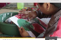 Taller de pintura y creatividad para niños y niñas