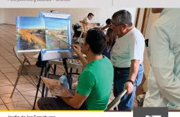 Proceso de pintura europeo en el dibujo y pintura