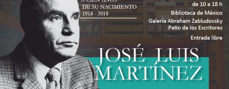 José Luis Martínez. Cien años