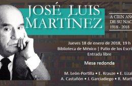 José Luis Martínez. A cien años de su nacimiento
