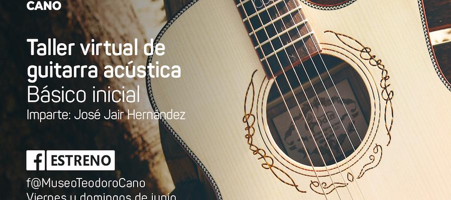 Guitarra acústica, básico inicial