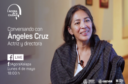 Conversando con Ángeles Cruz