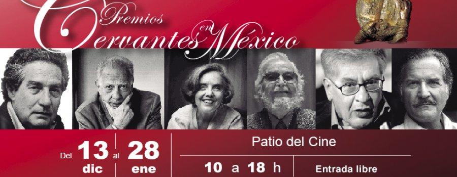 Los Premios Cervantes en México