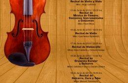 Recitales en la Escuela Superior de Música