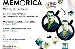 Jornadas por la Memoria Histórica de México- Miércoles...