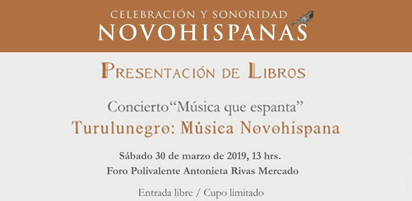 Celebración y Sonoridad Novohispanas