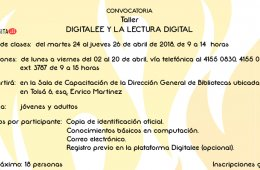 Digitalee y la lectura digital