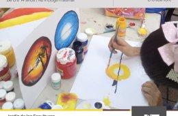 Pintura y creatividad para niños y niñas