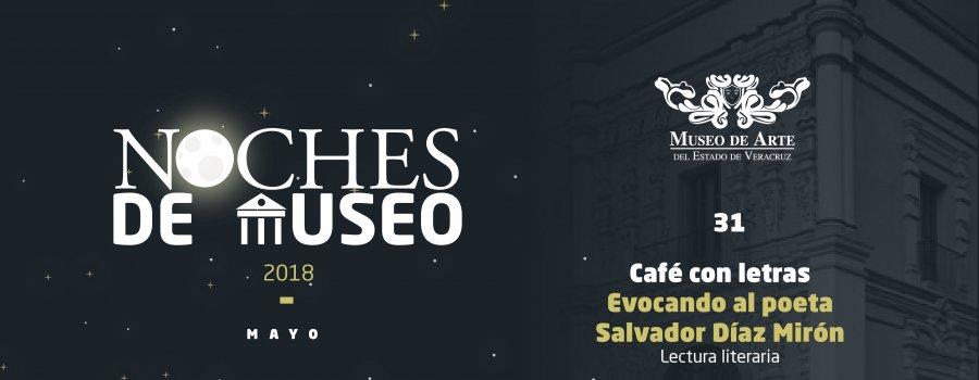 Café con letras. Evocando al poeta Salvador Díaz Mirón