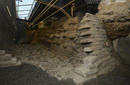 See the Great Mexica Base in the Area of Templo Mayor