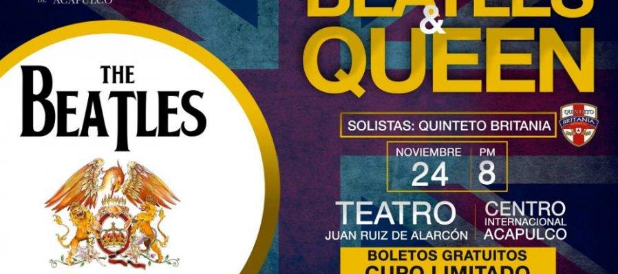 Una noche con Beatles & Queen