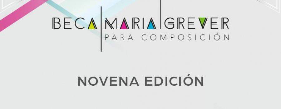 9ª edición de la Beca María Grever