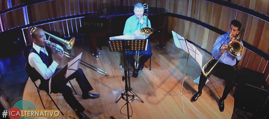Vive Bethoven con el cuarteto de trombones de Aguascalientes