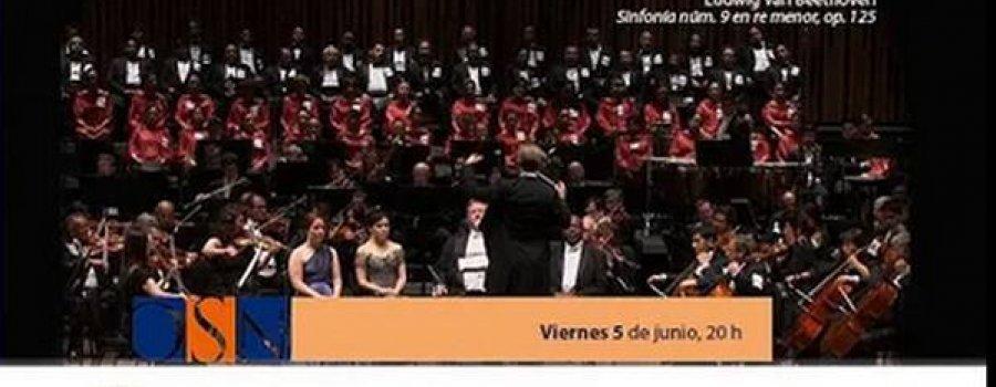 Orquesta Sinfónica Nacional: Concierto Ludwig van Beethoven: 9a Sinfonía