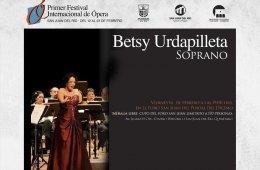 Soprano Betsy Urdapilleta