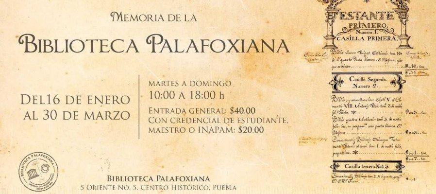 Memoria de la Biblioteca Palafoxiana