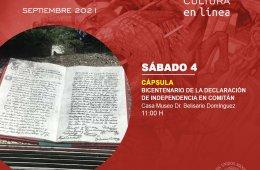 Bicentenario de la declaración de independencia en Comit...