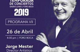 Jorge Mester con la Orquesta Filarmónica de Boca del Rí...
