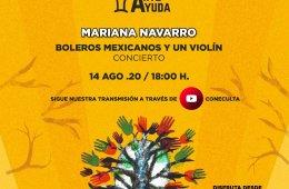 Boleros mexicanos y un violín
