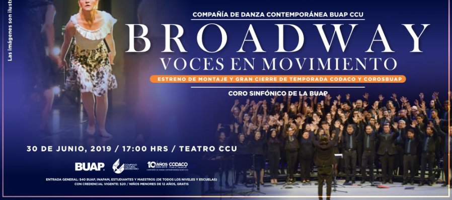 Broadway: Voces en movimiento