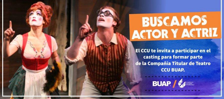 ¡El CCU busca actores!