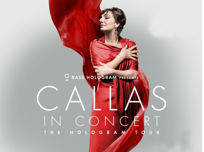 Callas in Concert. The Hologram Tour