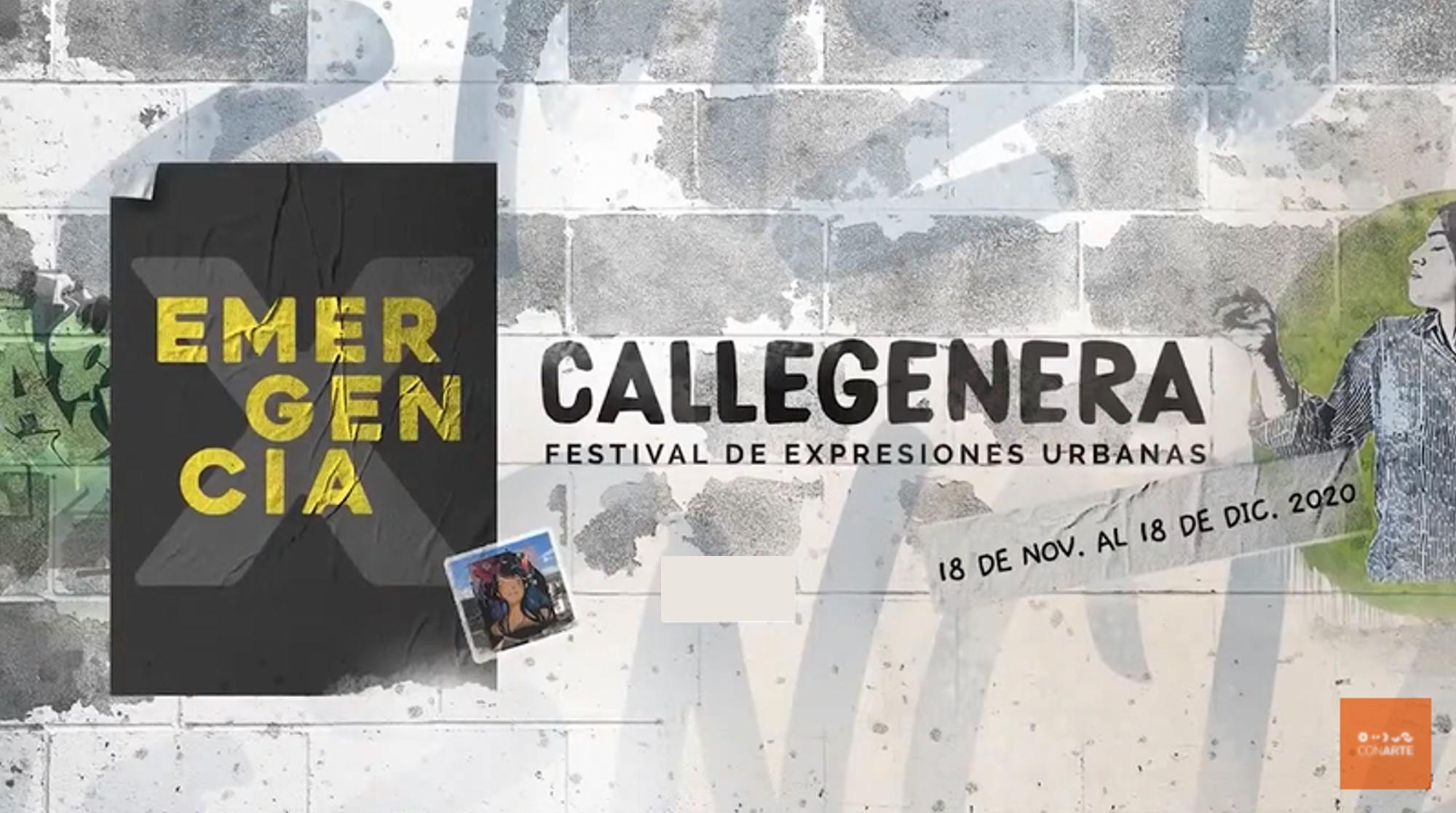 Callegenera X. Disruptivas: Estrategias Artísticas Feministas en el Espacio Urbano