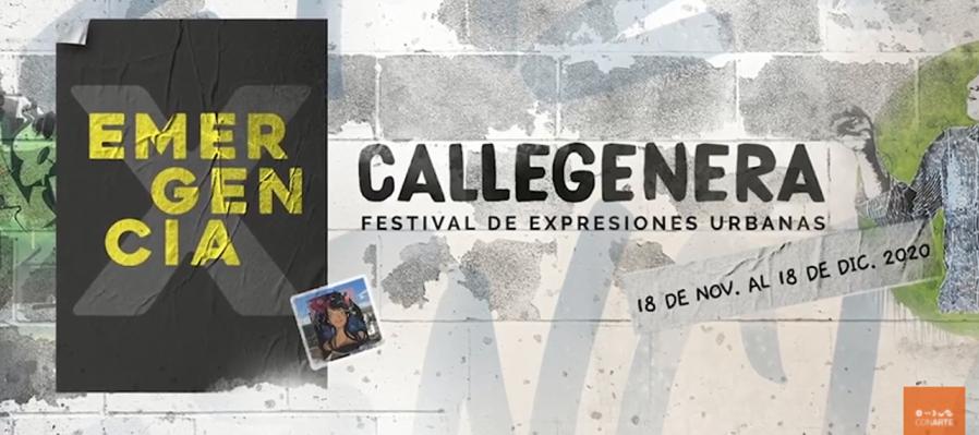 Callegenera X: Intervención urbana de Anahíd Hernández