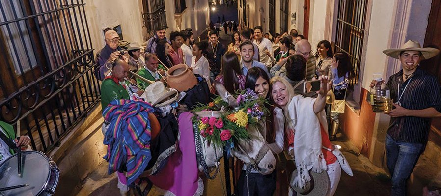 Callejoneada Zacatecana