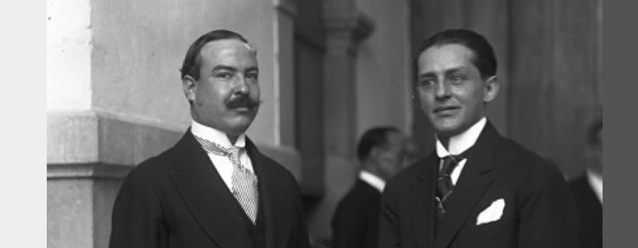 February 9, 1918: Hilario Medina Is Appointed Senior Administration Officer in Foreign Affairs