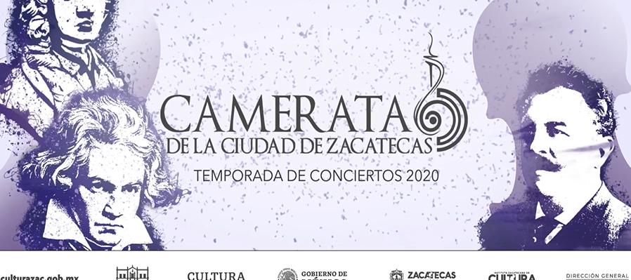 Camerata de la Ciudad de Zacatecas Concierto uno