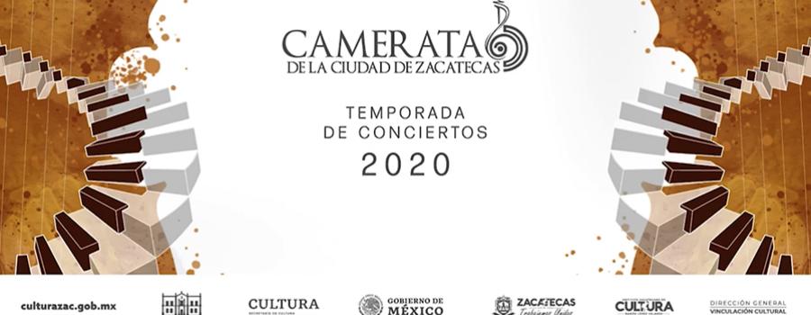 Concierto de Temporada de la Camerata de la Ciudad de Zacatecas