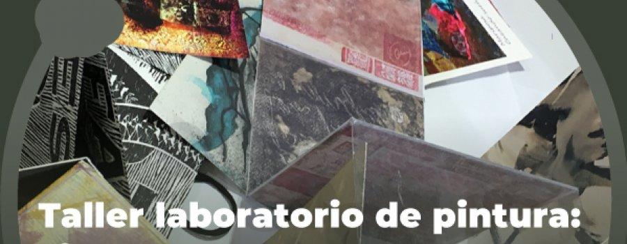 Taller laboratorio de pintura: LibroArte. 9. Pandemia y pensamiento gráfico.