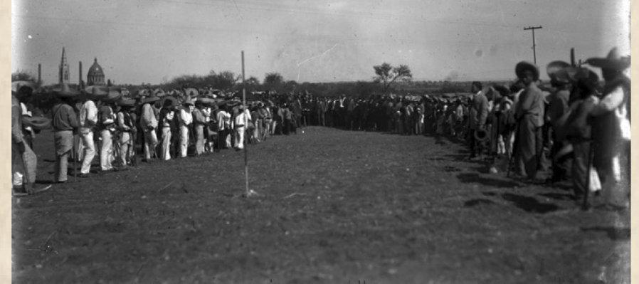 6 de septiembre de 1917: Inicia el reparto agrario