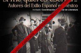 Si me quieres escribir... Autores del exilio español en ...