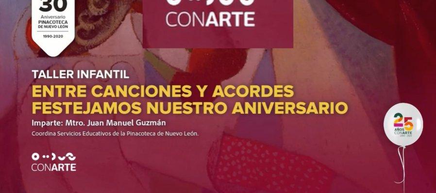 Entre canciones y acordes festejamos el aniversario de la Pinacoteca de Nuevo León