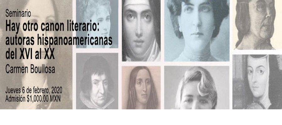 Hay otro canon literario: autoras hispanoamericanas del XVI al XX