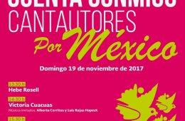Cuenta Conmigo. Cantautores por México