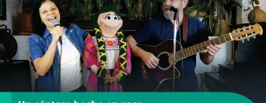 Un cántaro hecho en casa Grupo Cántaro, 40 años de música para niños