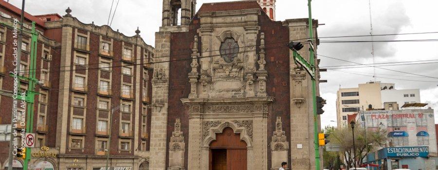 A cada capilla le llega su fiestecita: Centro Histórico, Ciudad de México