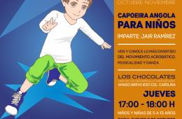 Capoeira Angola para Niños y Niñas
