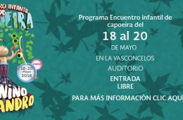 8o Encuentro Infantil de Capoeira - Programa 3