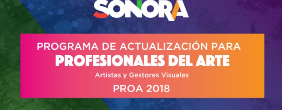 Cierre Programa de Actualización de Profesionales del Arte