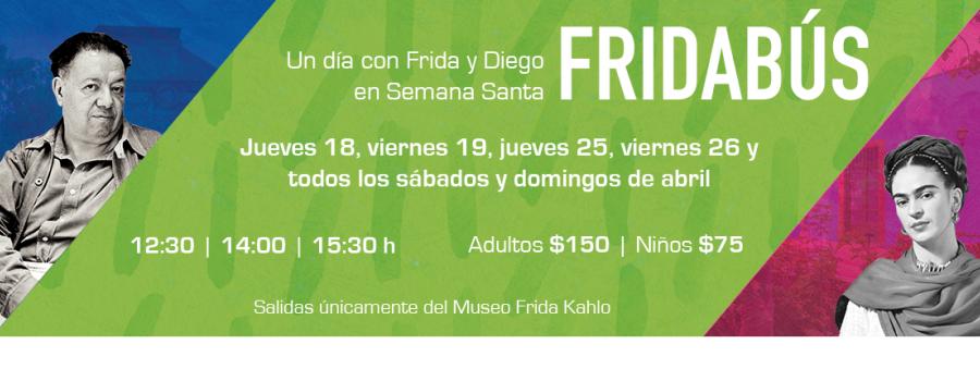 Fridabús: ¡Un día con Frida y Diego!