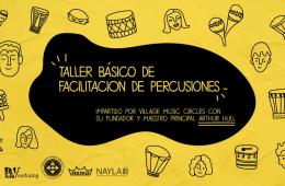 Taller básico de facilitación de percusiones