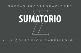 Sumatorio. Nuevas incorporaciones a la Colección Carrill...