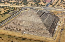 Teotihuacán desde las alturas