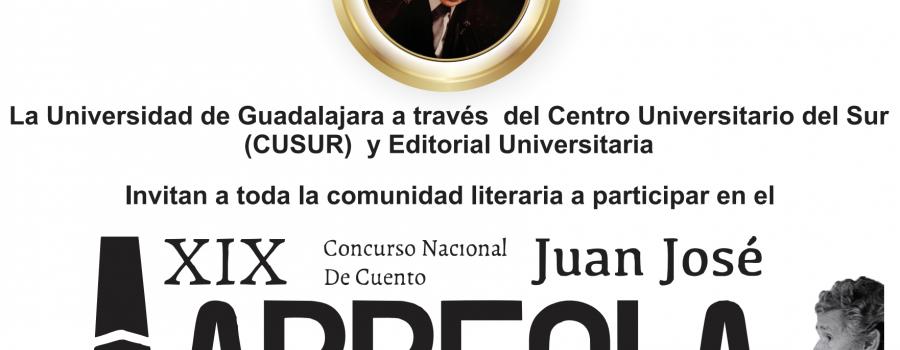 XIX Concurso nacional de cuento Juan José Arreola