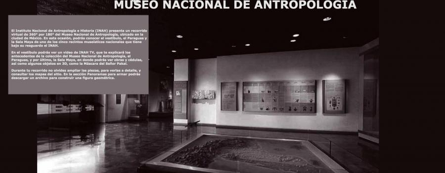 Recorrido virtual Museo Nacional de Antropología de  México