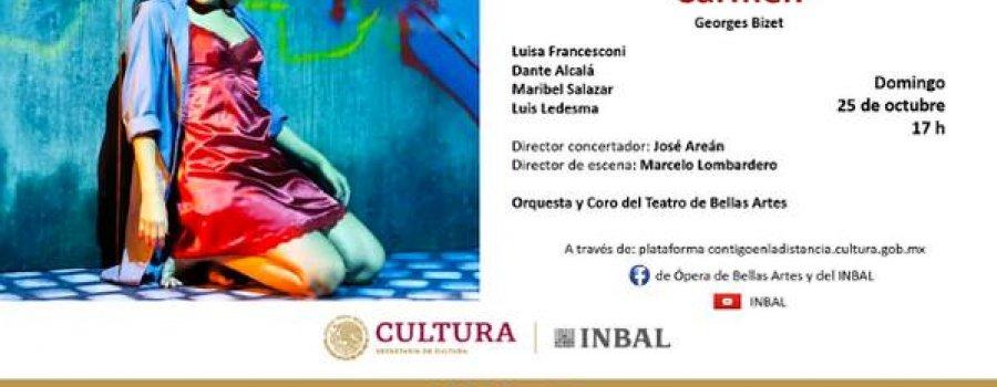 Carmen. Ópera de Bellas Artes
